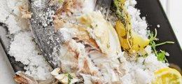 Dorada a la sal tradicional